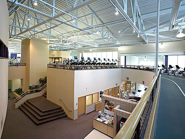 Baptist Health/Milestone Wellness Center Interior