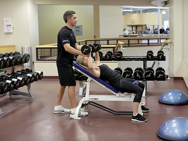 Personal Training at Baptist Health/Milestone Wellness Center