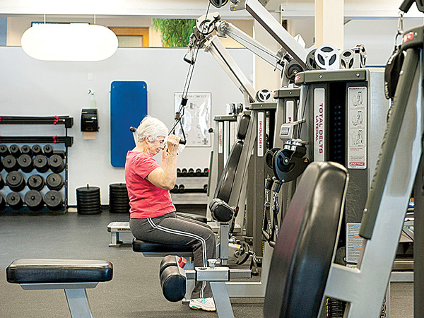 Strength Training at Saco Sport & Fitness