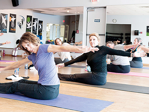 Yoga at Saco Sport & Fitness: Reader's Choice Award for Best Yoga Studio Throughout York County