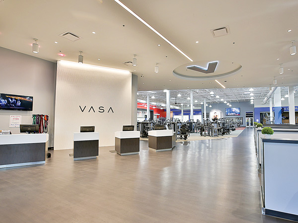Lobby Area at VASA Fitness