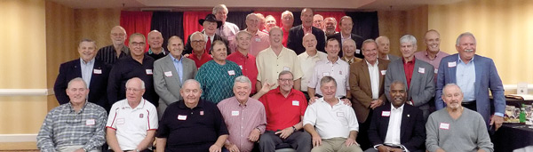 The 50th Reunion of the 1967 N.C. State Wolfpack Football Team that Beat the University of Georgia Bulldogs in the 1967 Liberty Bowl