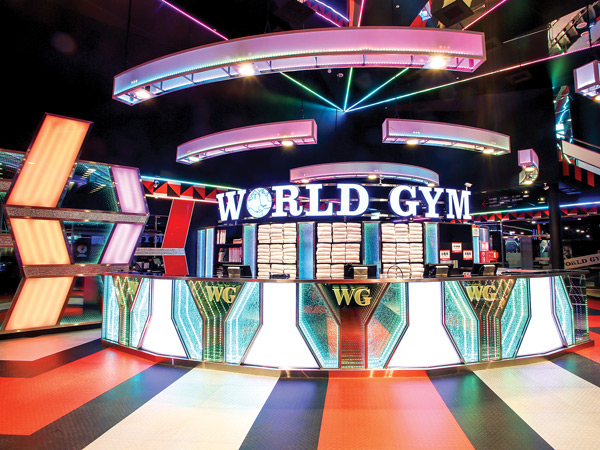 Front Desk - World Gym - ChuBei, Taiwan