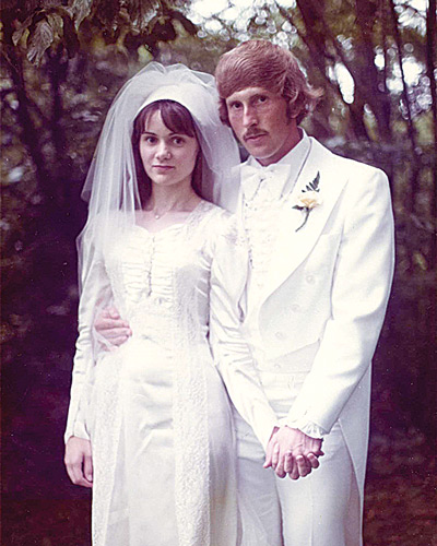 Stephen and Denise Tharrett, 1976