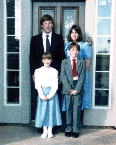 The Tharrett Family, 1988