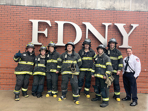In 2018, Integrity Square and Crunch Fitness partnered to raise over $300,000 in fitness equipment and cash to help most of the 225 NYC Fire Stations in the Five Boroughs.