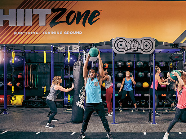 HIITZONE at Crunch Fitness