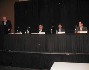 (L to R) Rick Caro, Pete Moore, Steve Wayne and Josh Comer