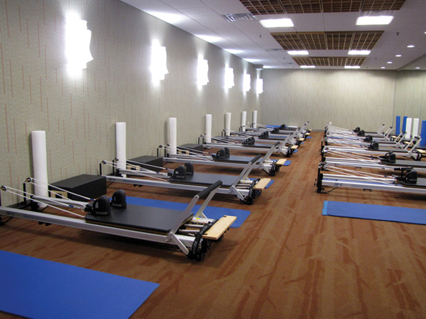 Newtown Athletic Club's New Pilates Studio