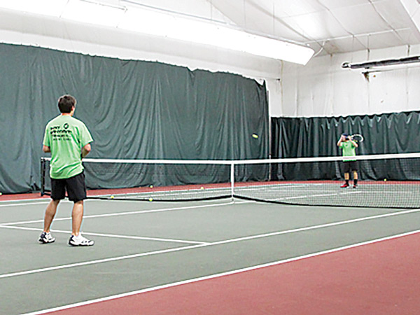 Indoor Tennis at The Edge