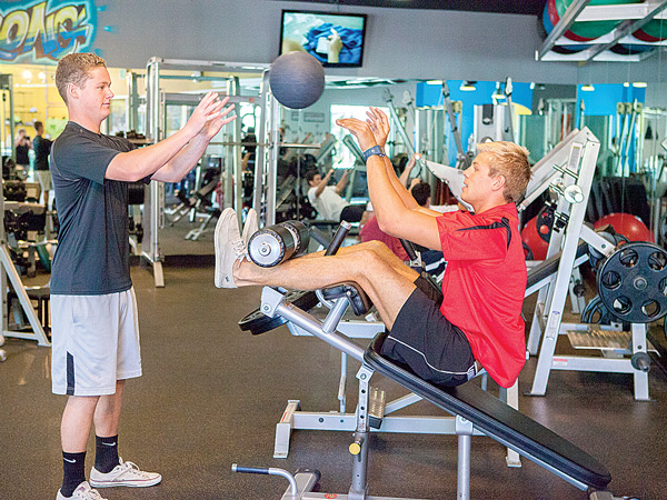 Personal Training at Stevenson Fitness