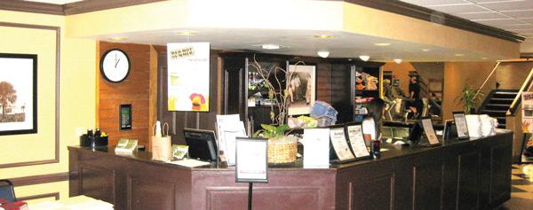 Shula's Lobby (Before)