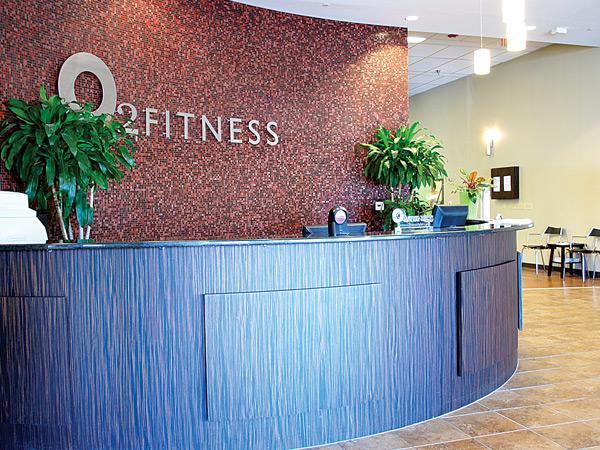 O2 Fitness Lobby (Brennan Station)