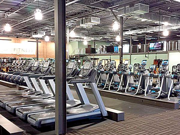 O2 Fitness Cardio Floor (Hanover)