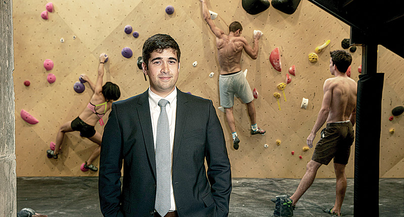 Lance Pinn, Co-Founder and President of Brooklyn Boulders