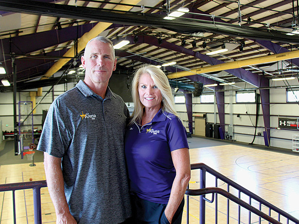 Keith and Kathy Rawlings, Owners of The Arena Club