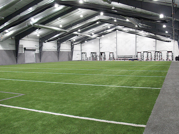 The Arena Club's Indoor Turf Field