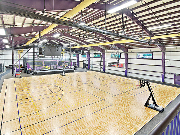 Gymnasium and Trampoline Park at The Arena Club
