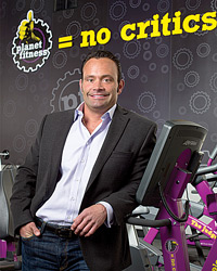 Chris Rondeau, CEO of Planet Fitness