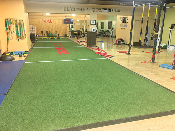 THRIVE Program Training Floor