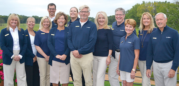 Key Marsh Staff Members (L to R) - Meg Young, Liz Anema, Molly Wheatley, Evan Strewler, Cece Jacox, Colleen Hagerman, Tom Dalum, Heidi Moon, Tim Mortenson, Carol Pehle, Stephanie Olson and Frank Chase