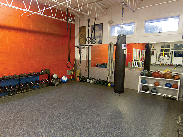 Exercise Floor at Wareing's Gym