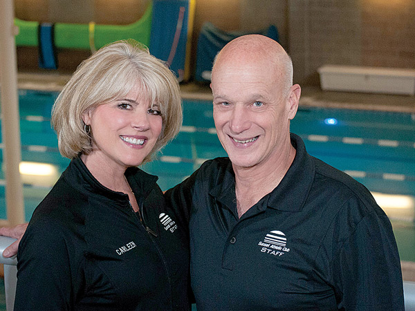 Carleen Prentice (General Manager) and Chuck Richards (Owner)