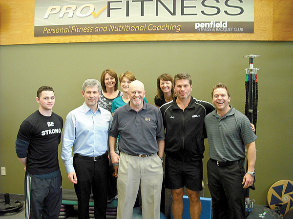 Jeff Russo and the Penfield Fitness Team in Rochester, New York