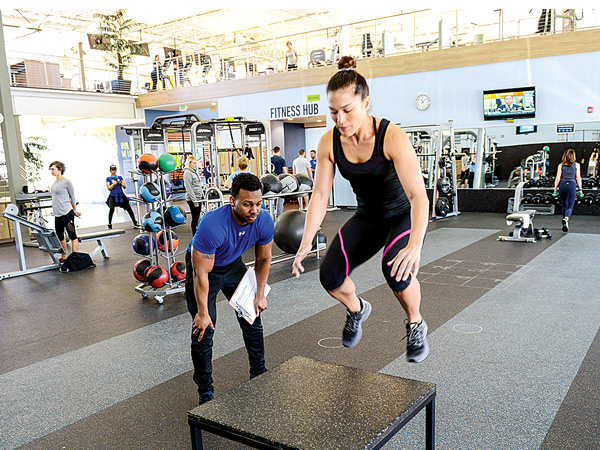 One on One 360 Fit Functional Training at In-Shape Heath Clubs