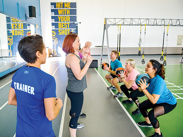 Small Group 360 Fit Functional Training at In-Shape Heath Clubs