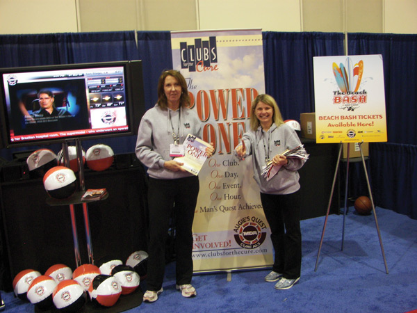 Clubs for the Cure at IHRSA 2009