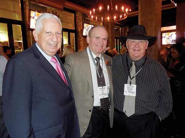 (L to R) - Industry Veterans Rick Caro, Joe Moore and Norm Cates