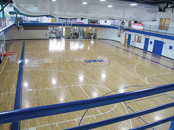 The Gymnasium at the Newtown Athletic Club