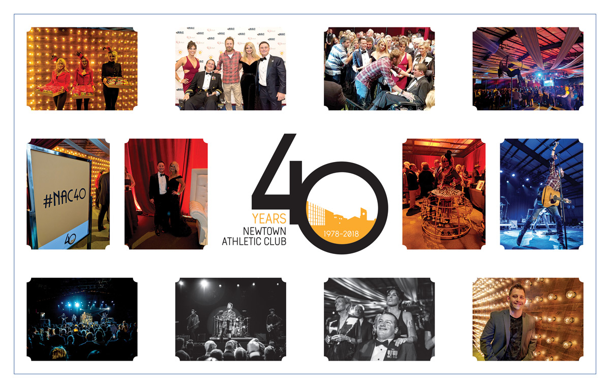 The 40th Anniversary Celebration of the Newtown Athletic Club