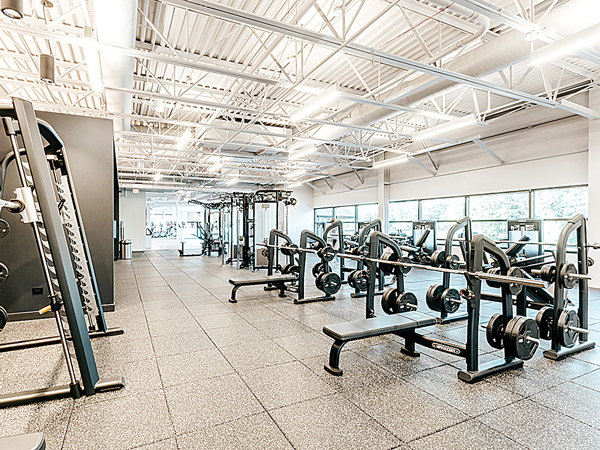 Fitness Floor at Midtown Athletic Club Bannockburn