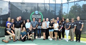 Stone Creek Management Team alongside members of the Rich Mauti Tennis Classic Committee